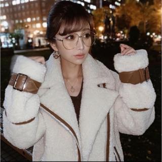 エイミーイストワール(eimy istoire)のエイミー☆ビッグボアジャケット(ブルゾン)