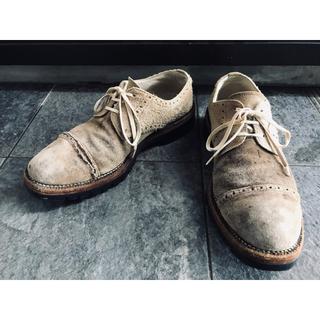 コムデギャルソン(COMME des GARCONS)のコム デ ギャルソン・オム スエードシューズ ビブラムソール ブーツ 26 (ブーツ)