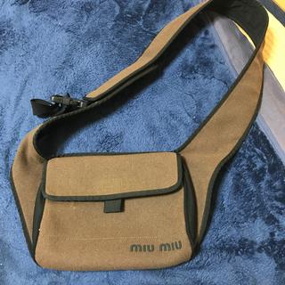 ミュウミュウ(miumiu)のmiu miu shoulder bag 1999-2000(ショルダーバッグ)