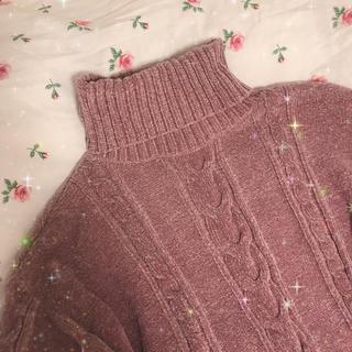 ナイスクラップ(NICE CLAUP)のパープル セーター(ニット/セーター)