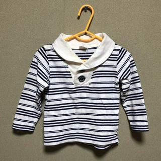 アカチャンホンポ(アカチャンホンポ)のボーダー シャツ サイズ90(Tシャツ/カットソー)