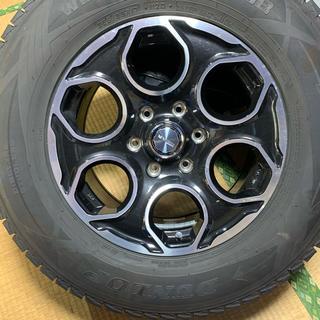 ダンロップ(DUNLOP)の1シーズンのみ使用!美品 スタッドレスタイヤ 265/65R17 プラド等 中古(タイヤ・ホイールセット)