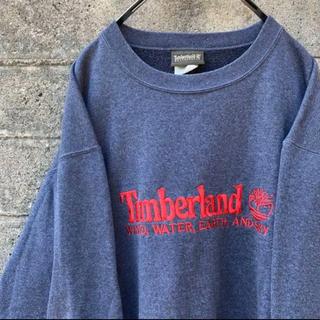 ティンバーランド(Timberland)の90's USA製 Timberland スウェットトレーナー(スウェット)