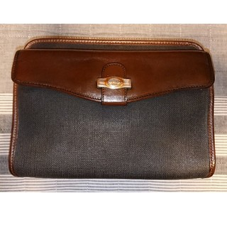 ダンヒル(Dunhill)のdunhill ダンヒル セカンドバッグ 中古良品 イタリア製(セカンドバッグ/クラッチバッグ)
