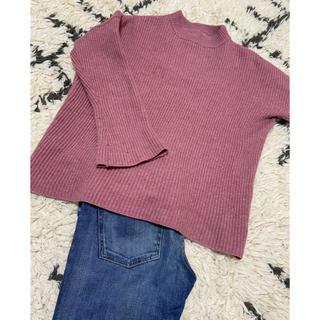 ルシェルブルー(LE CIEL BLEU)の平日割!ルシェルブルー ピンク セーター(ニット/セーター)