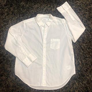 ミラオーウェン(Mila Owen)の白シャツ(シャツ/ブラウス(長袖/七分))