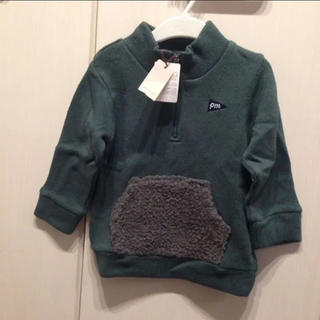 プティマイン(petit main)のプティマイン 新品 トレーナー(Tシャツ/カットソー)