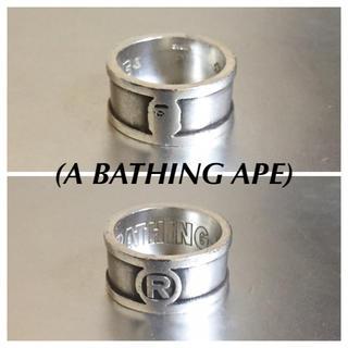 アベイシングエイプ(A BATHING APE)のA BATHING APEアベイシングエイプ925silverリング(リング(指輪))