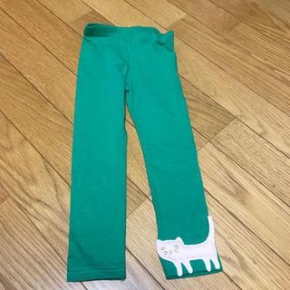 アニカ(annika)のレギンス 90サイズ 左足に猫ちゃん(その他)