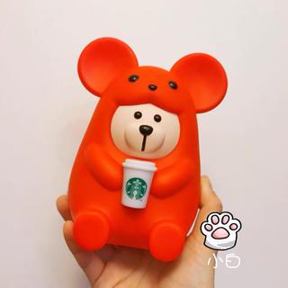 スターバックスコーヒー(Starbucks Coffee)の貯金箱 台湾スターバックス 中国 海外 鼠 2020年 干支 子年 ベアリスタ(その他)
