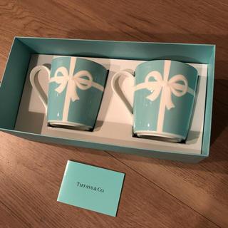 ティファニー(Tiffany & Co.)の【新品未使用】ティファニー ペアマグカップ(マグカップ)