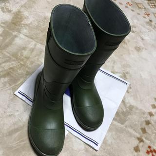 安全長靴 24センチ(レインブーツ/長靴)