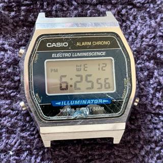カシオ(CASIO)の値下げCASIO W-99 1275 ベルトなし 不動品 レア ビンテージ 希少(腕時計(デジタル))