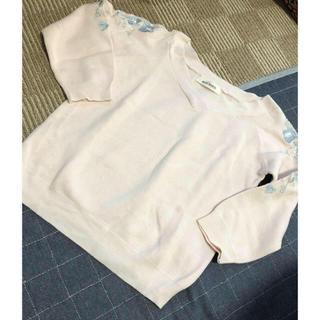 ミッシュマッシュ(MISCH MASCH)の新品 ミッシュマッシュ 刺繍トップス(カットソー(長袖/七分))
