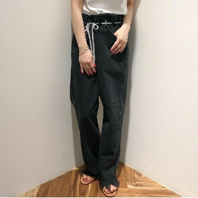 Edition(エディション)のメゾンエウレカ リメイクブラックデニム メンズのパンツ(デニム/ジーンズ)の商品写真