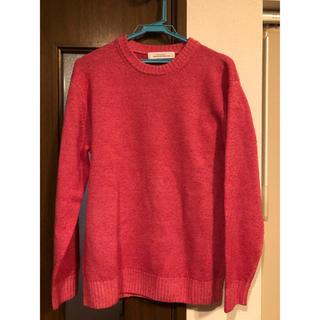 グリーンレーベルリラクシング(green label relaxing)のユナイテッドアローズ メンズ セーター ピンク(ニット/セーター)