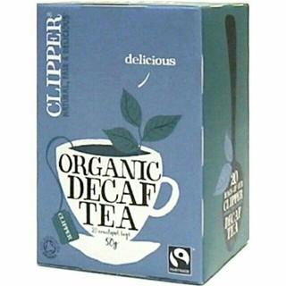 クリッパー オーガニック アッサム ブレンド カフェインレス 2.5g*20袋(茶)