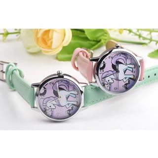 お値下げ中❣️新品未使用 キッズユニコーン腕時計(腕時計)