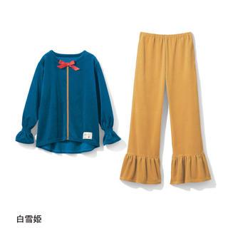 シラユキヒメ(白雪姫)のパジャマ ルームウェア 白雪姫 ブルー ディズニープリンセス レディース(ルームウェア)