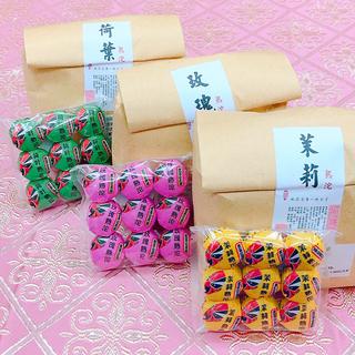 【黒茶】京劇普洱小沱茶(熟茶) 100g/袋(茶)