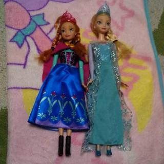 アナトユキノジョオウ(アナと雪の女王)のアナ雪  アナ  エルサ  人形(キャラクターグッズ)