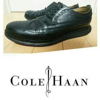 コールハーン(Cole Haan)の値下1万円→8千円 COLE HAAN オリジナルグランド 革靴 黒(ドレス/ビジネス)