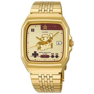 アルバ(ALBA)の正規メーカー保証付き! 新品 送料込 ALBA スーパーマリオ 腕時計 アルバ(腕時計(アナログ))