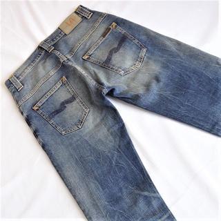 Nudie Jeans - ヌーディジーンズシンフィン▼ストレッチスキニー▼30インチ▼ウエスト約76cm