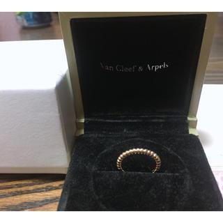 ヴァンクリーフアンドアーペル(Van Cleef & Arpels)のヴァンクリーフ &アーペル  ペルレ  リング(リング(指輪))