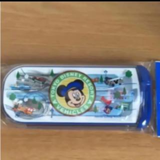 ミッキーマウス(ミッキーマウス)のディズニーリゾート限定 ミッキー カトラリーセット 新品(弁当用品)