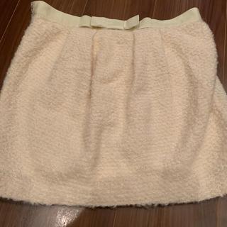 JILLSTUART - jillstuartoサイズ白ミニスカート