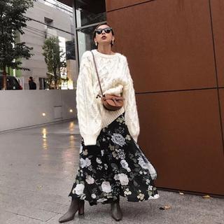 アメリヴィンテージ(Ameri VINTAGE)のyoko0193様専用リリースリッドスカートM(ロングスカート)