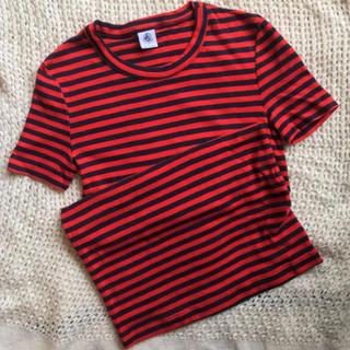 プチバトー(PETIT BATEAU)のPETIT BATEAU プチバトー ボーダー Tシャツ(Tシャツ(半袖/袖なし))