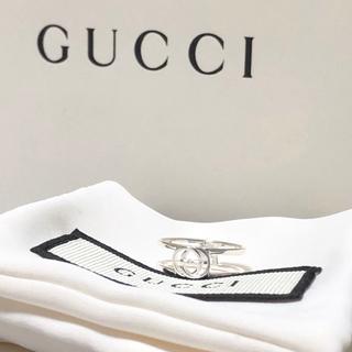 グッチ(Gucci)のGUCCI インターロッキングG オープンリング 8号(リング(指輪))