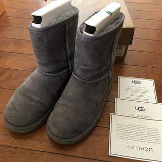 アグ(UGG)のUGG4 ブーツ グレー ミドル(ブーツ)