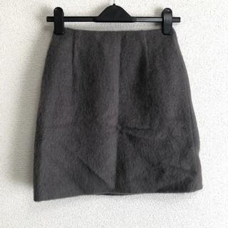 ナチュラルビューティーベーシック(NATURAL BEAUTY BASIC)のNATURAL BEAUTY BASIC ミニスカート タイト グレー XS(ミニスカート)