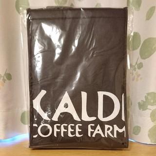 カルディ(KALDI)の❣️新品未開封❣️KALDI  オリジナル保冷バッグ  黒  (日用品/生活雑貨)
