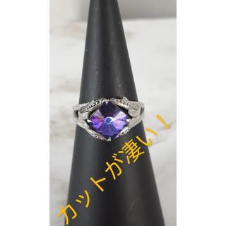 ★カットが凄い(^O^)/超キラキラ!ラインストーンリング★15-16★(リング(指輪))