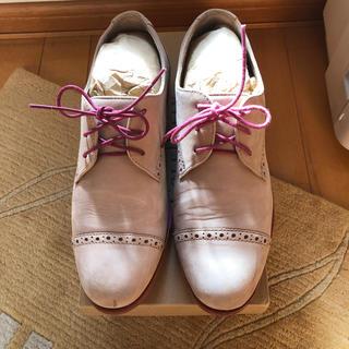 コールハーン(Cole Haan)のコールハーン ウイングチップシューズ(ローファー/革靴)