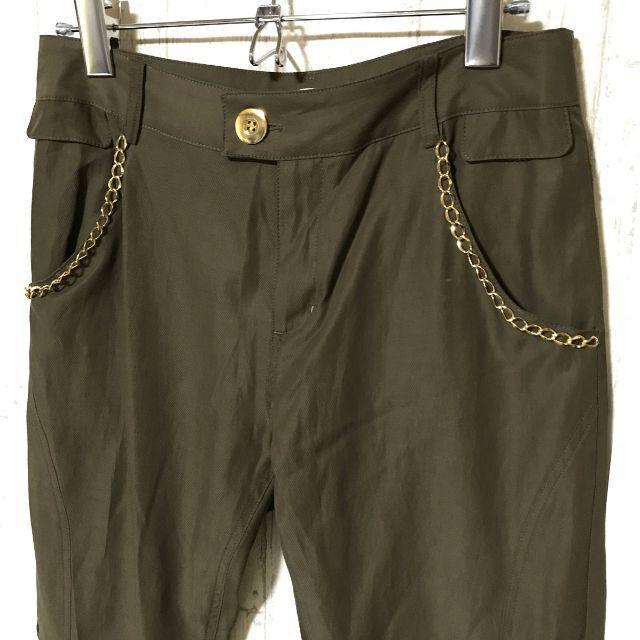 Chesty(チェスティ)の✨Chesty チェスティ パンツ 細身 チェーン飾り 00サイズ レディースのパンツ(その他)の商品写真