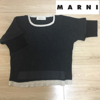 マルニ(Marni)のMARNI winter edition 2011 マルニ 半袖ニット セーター(ニット/セーター)