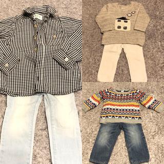 ザラ(ZARA)の子供服 まとめ売り 90 6点セット 男の子 ZARA GAP OLDNAVY (ニット)