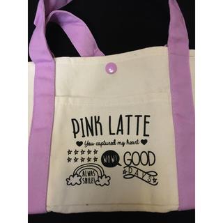 PINK-latte - ミニトート・ヘアゴム
