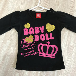 BABYDOLL - ベイビードール tシャツ 80 ベビー服