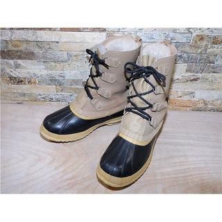 ソレル(SOREL)のソレル ウインタースノーブーツ 黒×ベージュ 2929,5cm US11(ブーツ)
