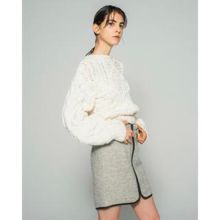 ドゥロワー(Drawer)のcasa fline 新品未使用タグ付き スカート(ひざ丈スカート)