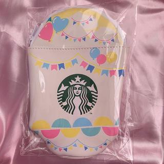 スターバックスコーヒー(Starbucks Coffee)のSTARBUCKS♡フラペチーノ型 ペンシルケース♡新品(ペンケース/筆箱)