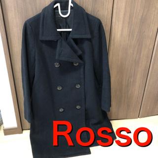 ロッソ(ROSSO)のRosso ロッソ トレンチコート 黒 S(トレンチコート)