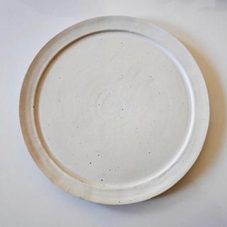 リムプレート マットホワイト + 豆皿  プレゼント753様専用(食器)