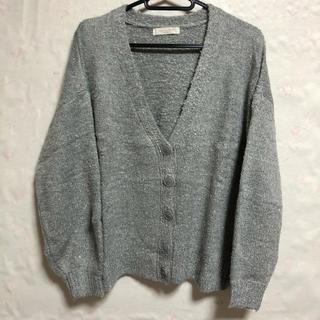 ショコラフィネローブ(chocol raffine robe)の☆ショコラフィネローブ☆カーディガン☆未使用品☆(カーディガン)